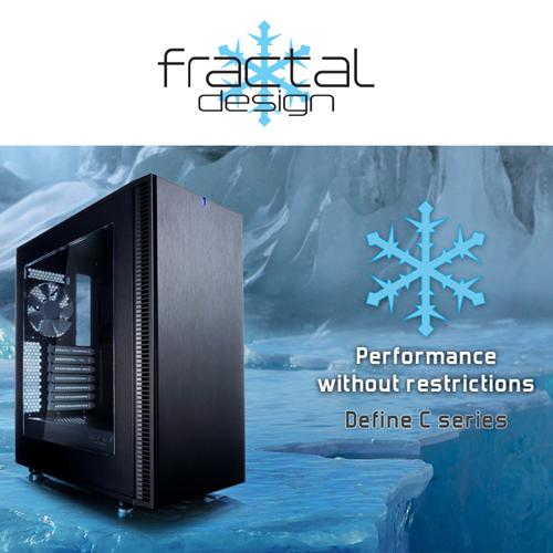 เปิดตัวเคส Fractal Design น้องใหม่ Define C เคสแบบกระชัด แต่เน้นหนักด้วยคุณภาพ