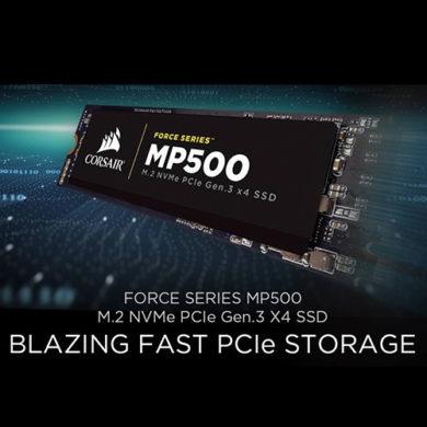แรงได้ใจสายเทอร์โบ!!! เตรียมพบกับ SSD สายพันธ์ใหม่.. Corsair M.2 NVMe PCIe MP500