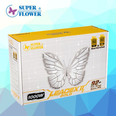 Power Supply ที่รอคอย Super Flower Leadex Gold II