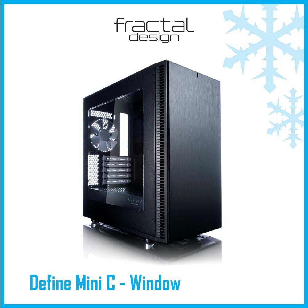 Define mini C เคสนวัตกรรมใหม่โดยทีมวิศวกรจาก Fractal Design