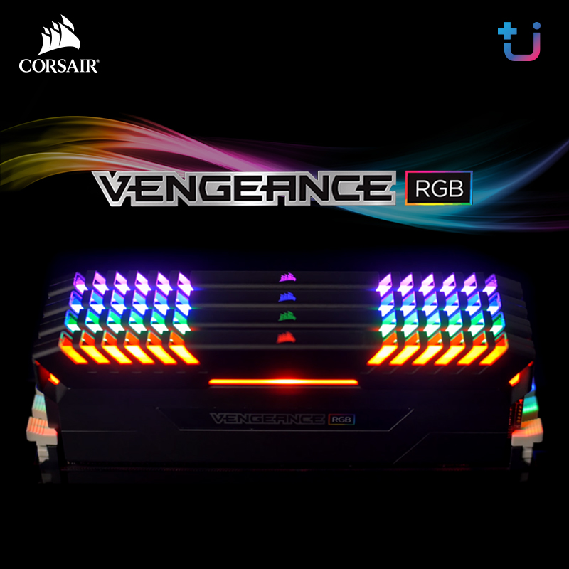 เข้าไทยแล้ว !! Corsair Vengeance RGB DDR4 | Stunning RGB , Striking Speed