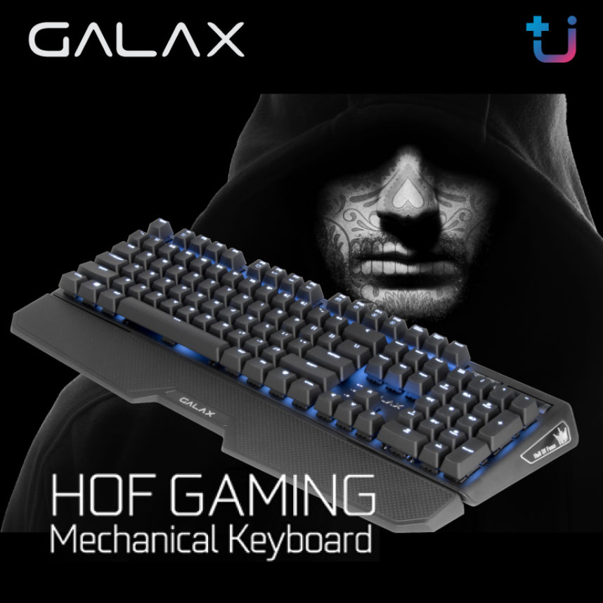 สาวก GALAX HOF ไม่ควรพลาด!! โอกาสเดียวที่จะได้เป็นเจ้าของ GALAX HOF Gaming Keyboard Limited Edition