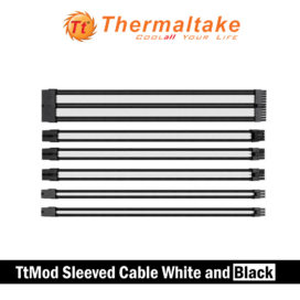 THERMALTAKE-TtMod-Sleeve-Cable-White-Black