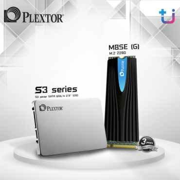 "Plextor เปิดตัว SSD รุ่นใหม่ SATA 2.5 ""S3C Series"" และ M.2 PCIE NVME ""M8SE Series"""