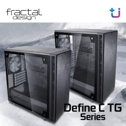 เคสรุ่นใหม่ไม่ใช่แค่ดีไซน์สวยหรู แต่ต้องเงียบและเย็น จากตระกูล Fractal Design : Define C TG