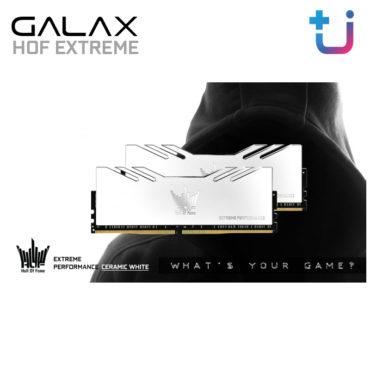 All New !! GALAX MEMORY HOF EXTREME DDR4 CERAMIC WHITE สาวก HOF ไม่ควรพลาด