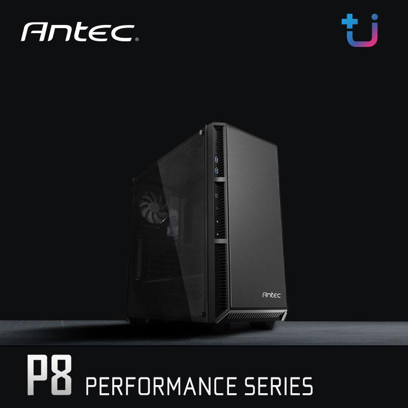 เคส Antec P8 Performance Series เคสฟังก์ชั่นดีโดนใจ ฝาข้าง Tempered Glass พัดลม LED 3 ตัว ราคาสุดคุ้ม