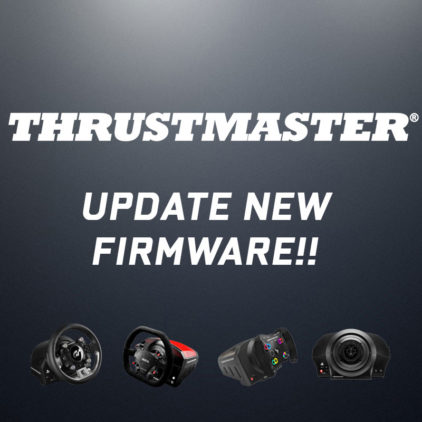 Thrustmaster new firmware! มาแล้ว