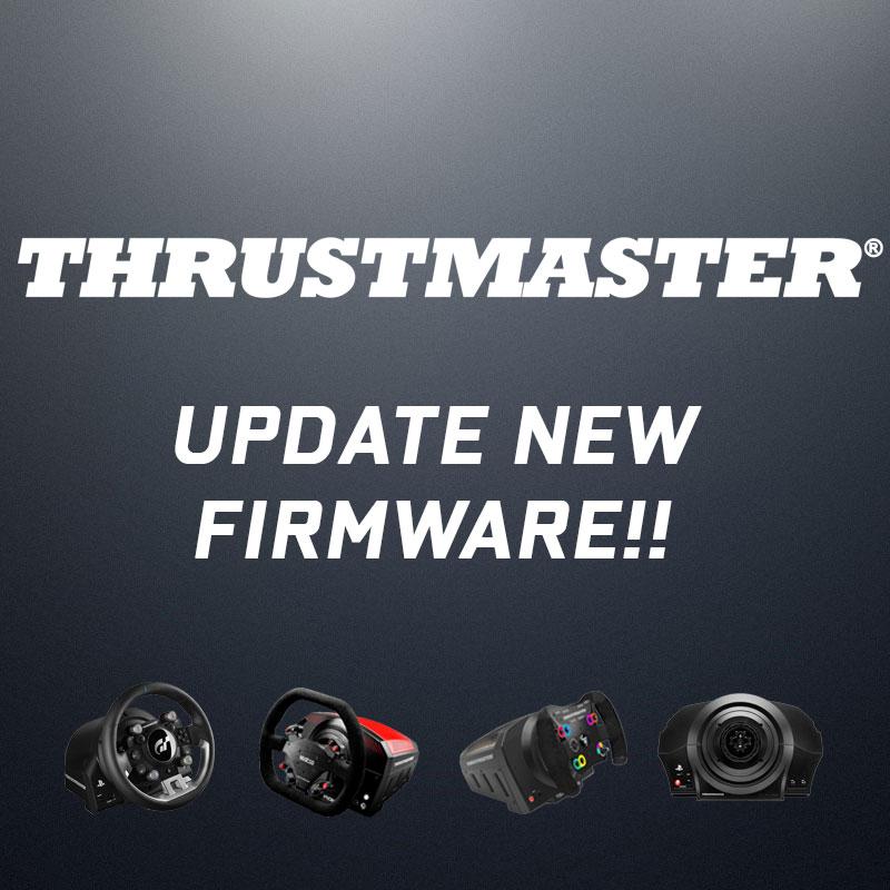 Thrustmaster new firmware! มาแล้ว