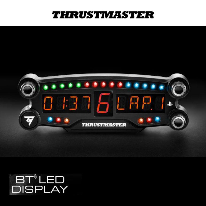 เปิดตัว Thrustmaster BT LED Display หน้าจอบอกสถานะ นักซิ่งตัวจริงต้องมี!!!