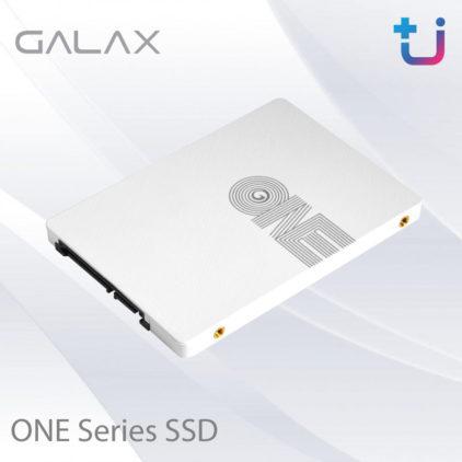 """เพิ่มความขาว และประสิทธิภาพความเร็วให้กับ Computer ด้วย """"GALAX ONE Series SSD"""""""