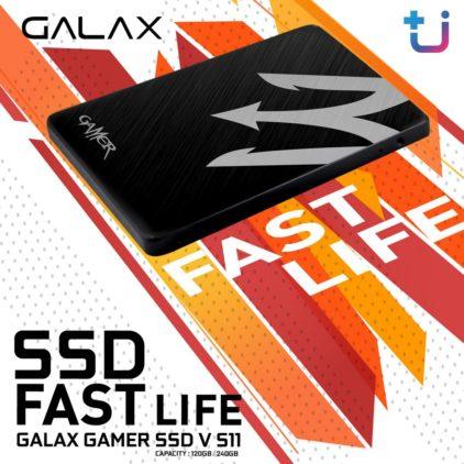 เปลี่ยนชีวิตด้วยความเร็ว Galax GAMER SSD V