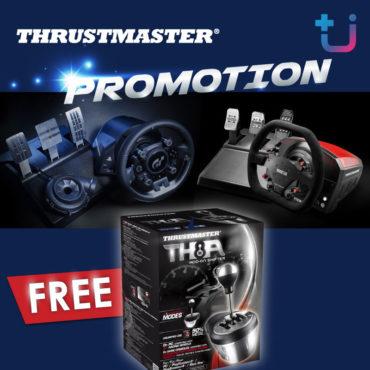โปรโมชั่น Thrustmaster รับปีใหม่!! คุ้มสุดๆ