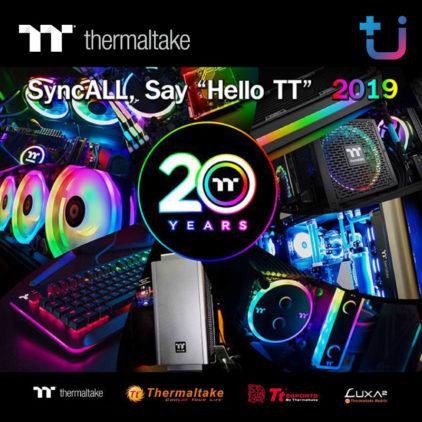 Thermaltake Thailand จัดงานแถลงข่าวเปิดตัวสินค้าใหม่ประจำปี 2019