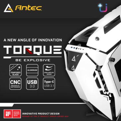 ANTEC TORQUE เคสดีไซน์ล้ำวัสดุหรูสุดเพอร์เฟคแห่งปี ในราคา 12,900 บาท