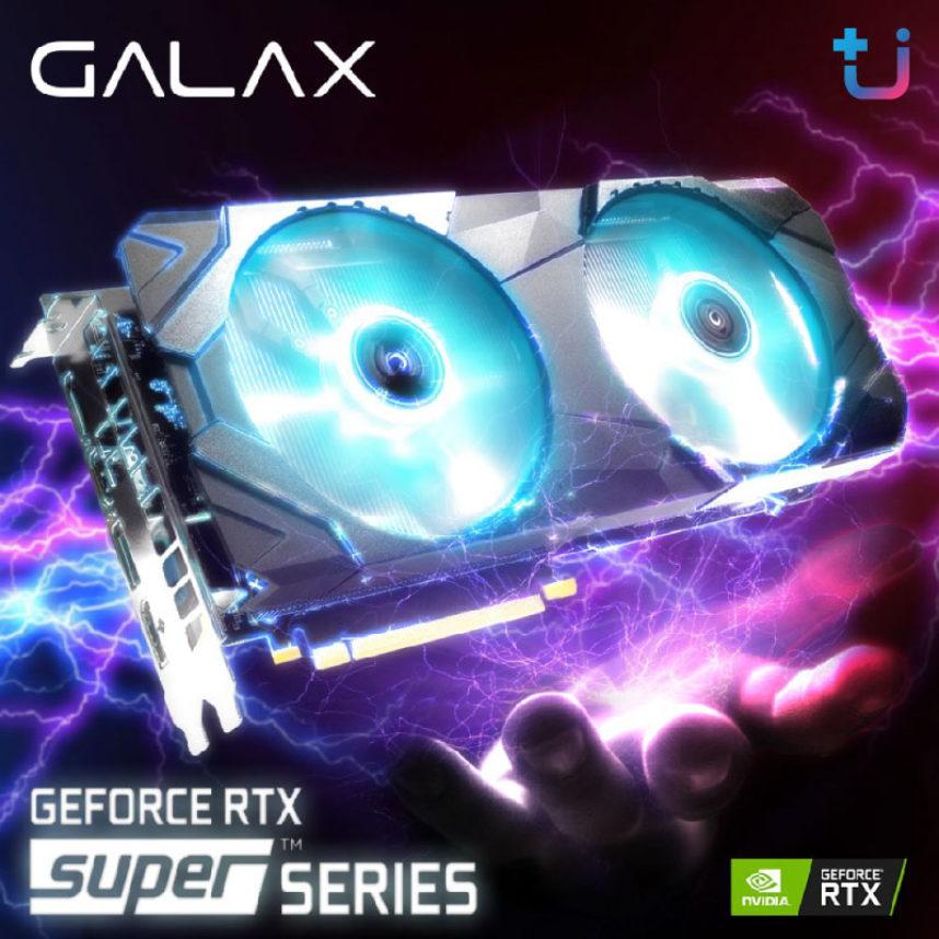 กราฟิกการ์ดรุ่นใหม่จาก GALAX ความแรงระดับ SUPER…..