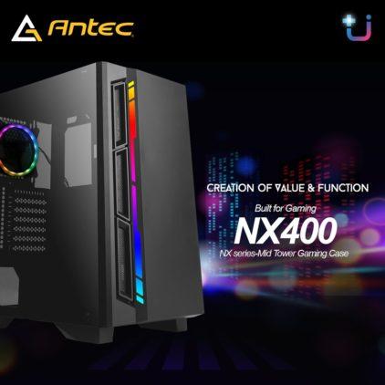 1,390 บาทเท่านั้น !!  เคสสุดคุ้ม รุ่นใหม่ล่าสุด !! Antec NX400