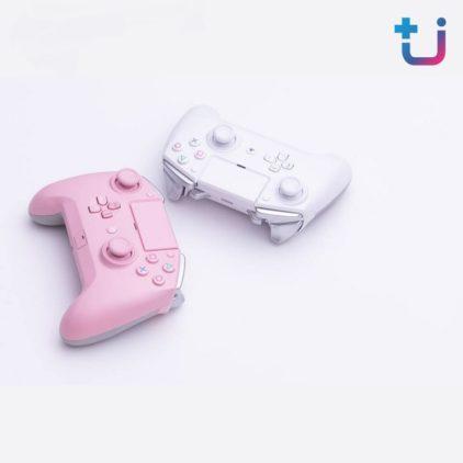 ขาว หรือ ชมพู ดี!!! จอยสำหรับสาย Console และสามารถใช้งานกับ PC ได้