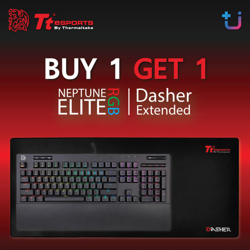 TteSPORTS Neptune Elite RGB |FREE| TteSPORTS Dasher Extended