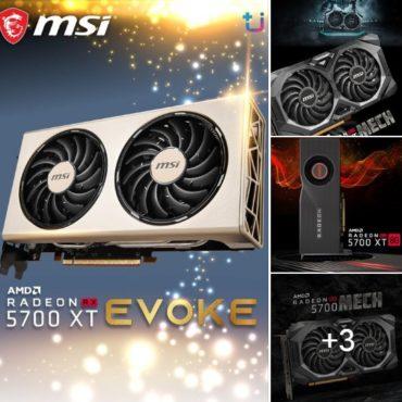 พบกับ MSI Radeon RX5700 Series จากทาง Ascenti Resources กันได้แล้วนะครับ