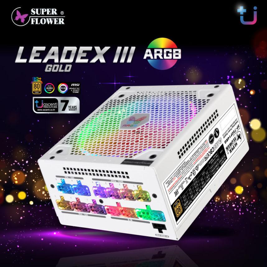 มาแล้วว!!!Super Flower LEADEX III ARGB GOLD